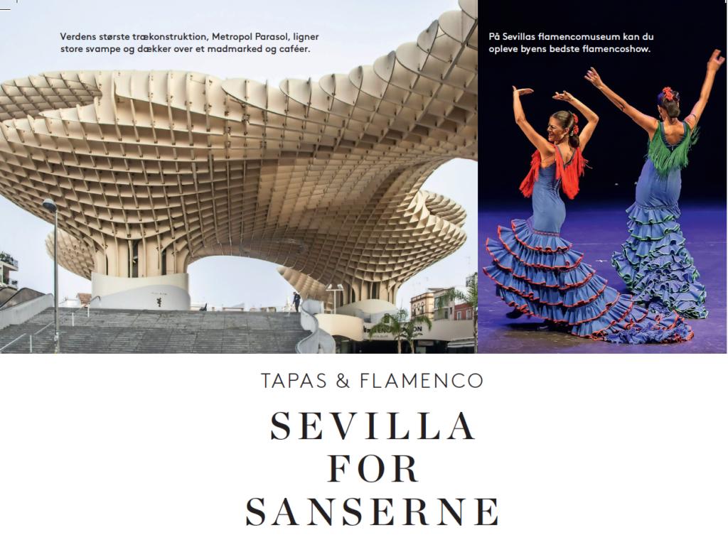 Sevilla for sanserne - Femina